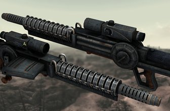 Gauss Rifle Hi-Res Retexture