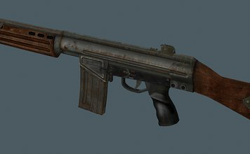US Assault Rifle Retexture